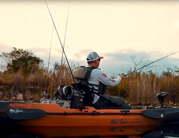 This Fishing Kayak Lets You Drive with One Hand & Cast with the Other