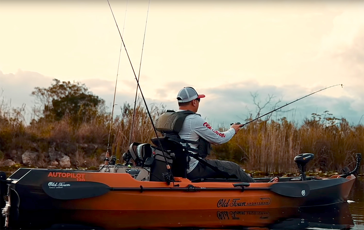 This Fishing Kayak Lets You Drive with One Hand & Cast with the Other at werd.com