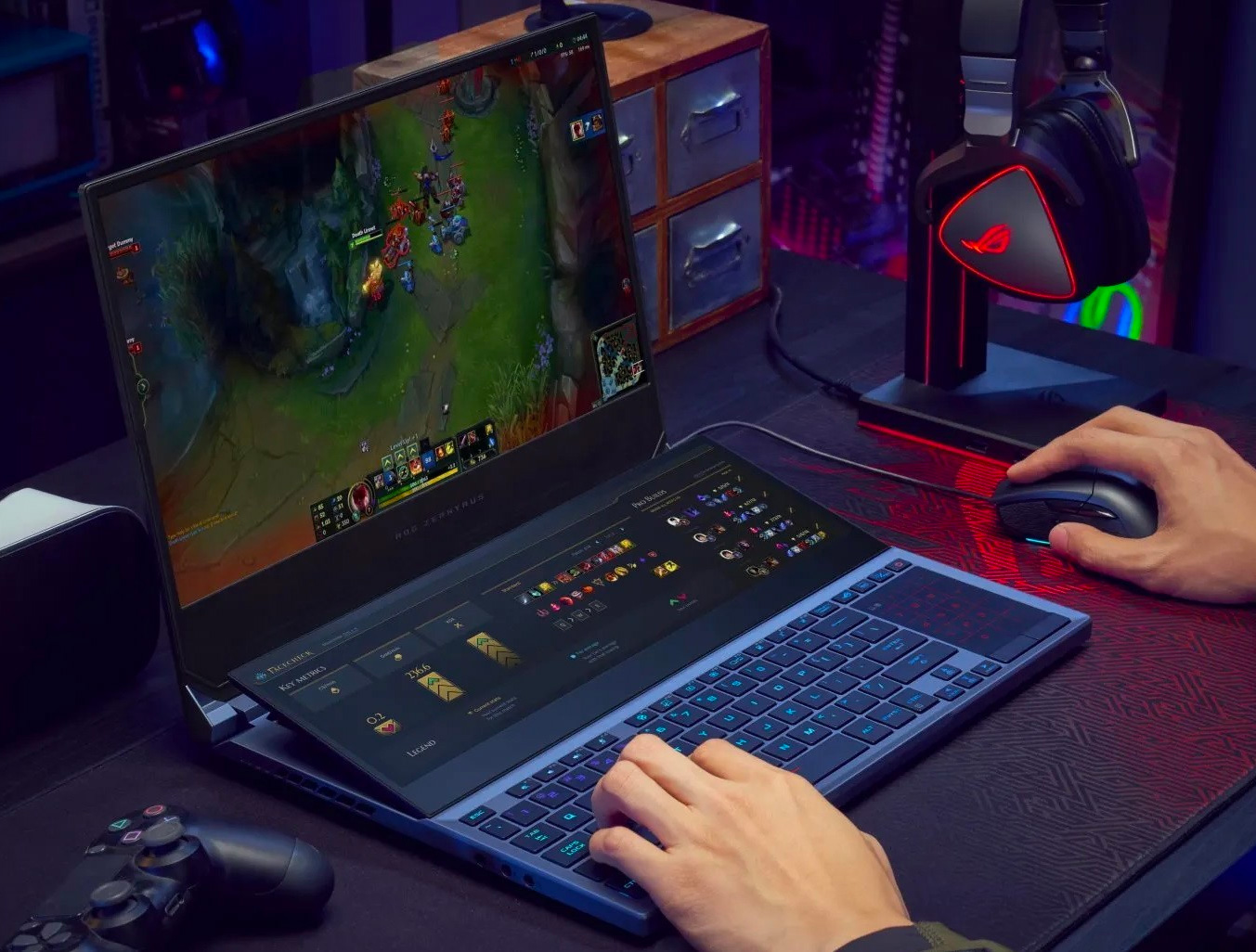 Asus Introduces Dual-4k Touchscreen Gaming Laptop at werd.com