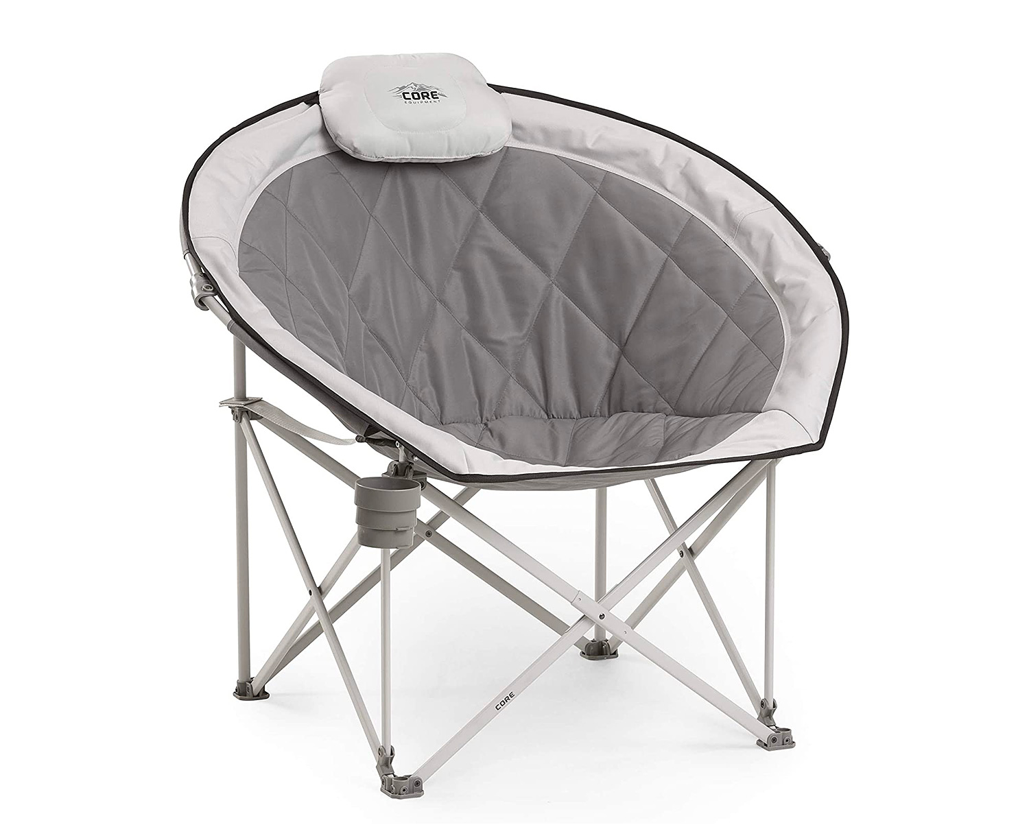 Kick Back & Chill Out In Core Equipment's Moon Round Saucer Chair at werd.com