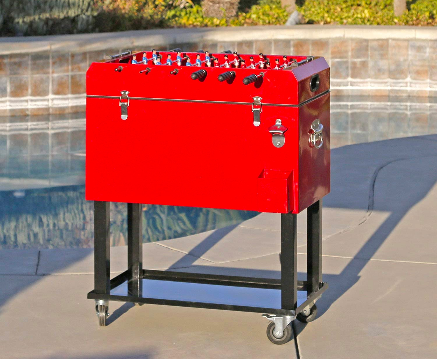 This Foosball Cooler Cart is Pretty <i>Clevr</i> at werd.com