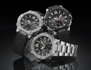 Casio Adds the All-Terrain GST-BS300 to its G-Steel Lineup