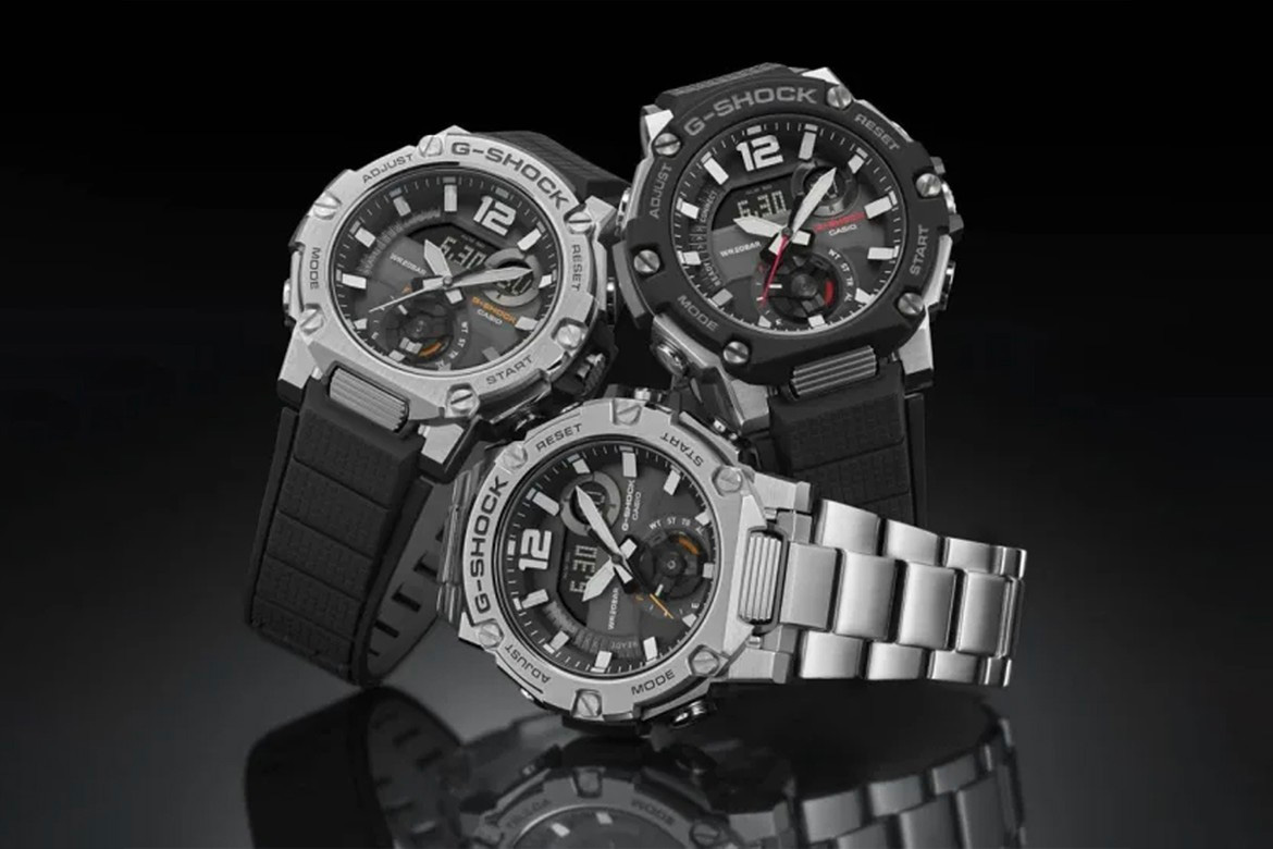 Casio Adds the All-Terrain GST-BS300 to its G-Steel Lineup at werd.com