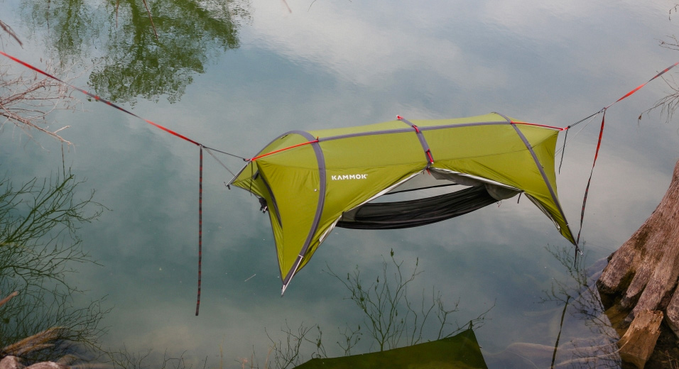 Kammok's Sunda 2.0 is the Ultimate Tent-Hammock at werd.com