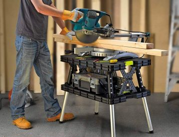 Handle Projects Like a Pro with Keter's Folding Work Table