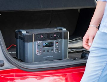 The Monster X Portable Power Station Can Charge a Car