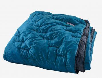 Keep Cozy Anywhere with Patagonia's Weatherproof Macro Puff Blanket