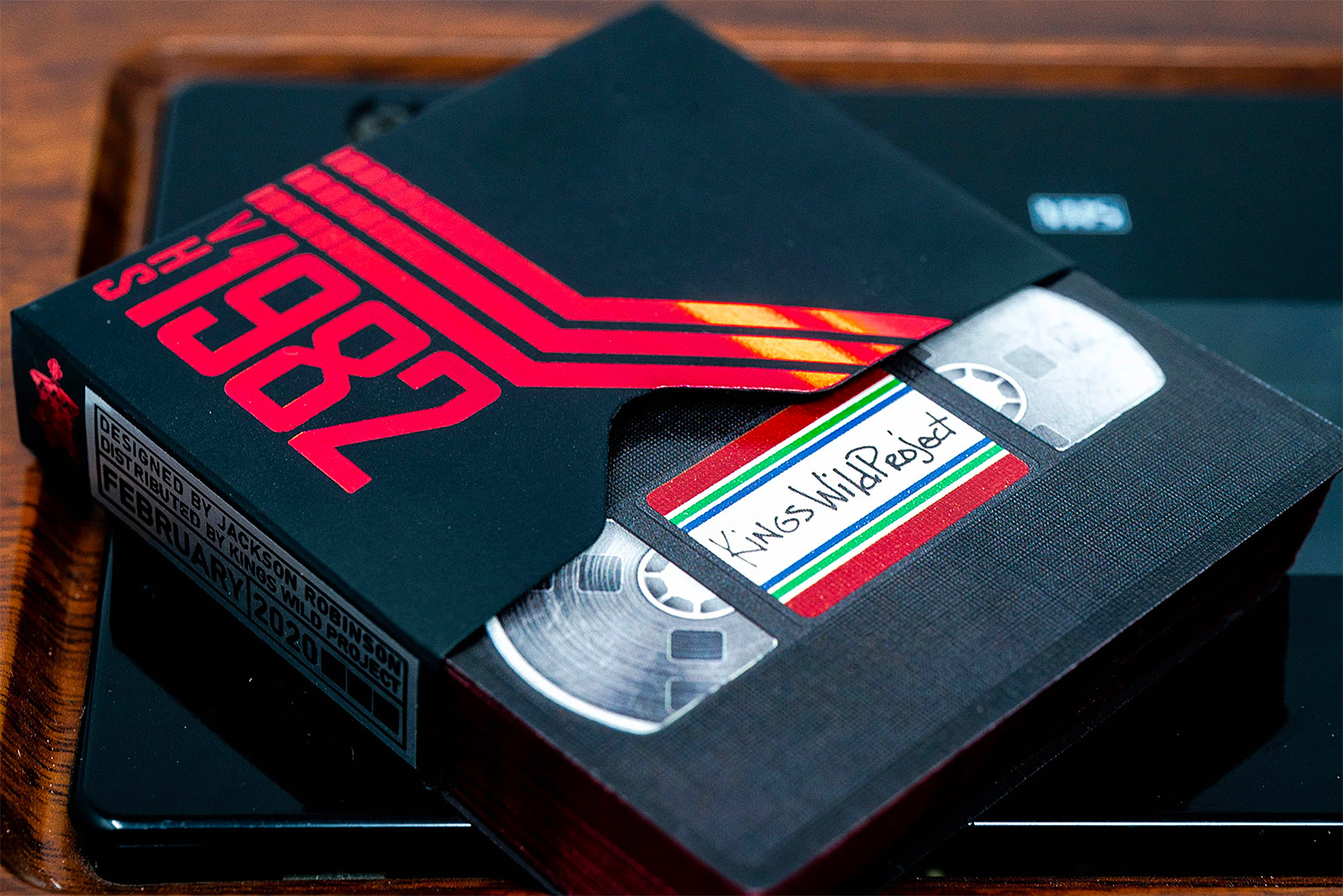 VHS 1982 Playing Cards Take You Back In Time at werd.com