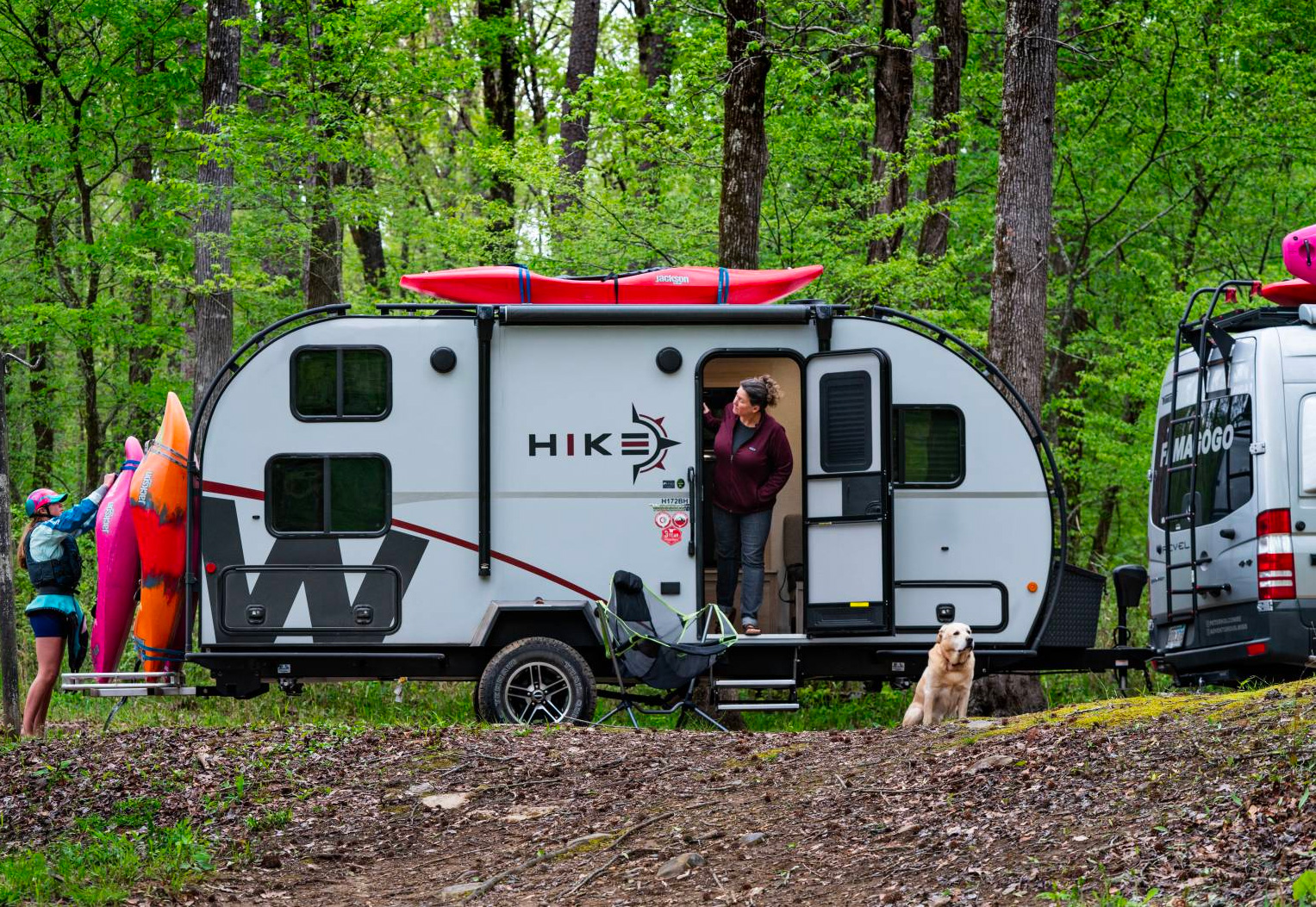 Winnebago's Hike Camper is Optimized for Active Adventure at werd.com