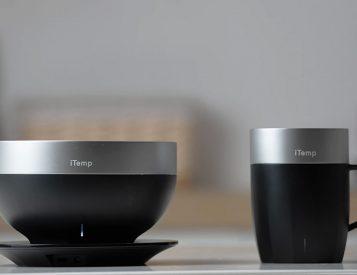 Keep It Hot with iTemp's Smart Mug & Bowl Set