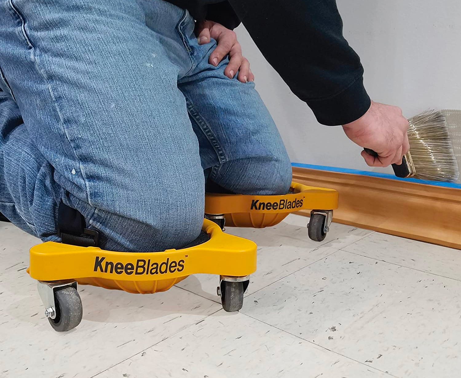 With Knee Blades, You Can Wheel While You Work at werd.com