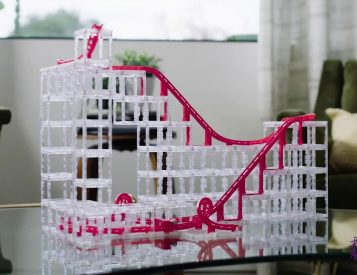 Build a Radical Rollercoaster on Your Coffee Table with MagnetCubes
