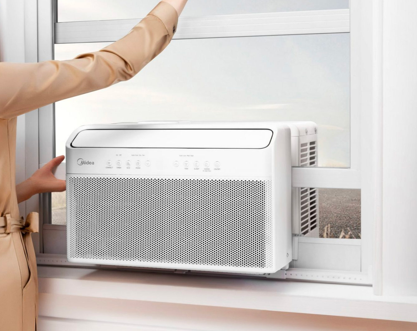 Midea's U-Shaped AC Unit is Cool & Quiet at werd.com