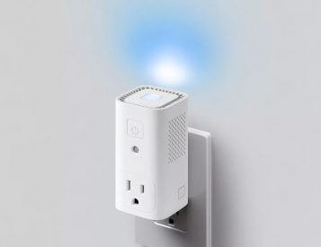 Awair Glow C is an Air Monitor & Smart Plug In One