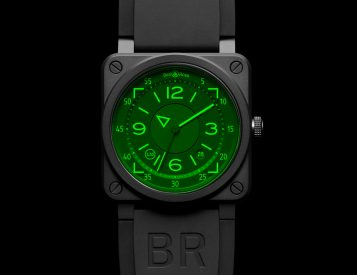 Bell & Ross Introduce Aviation-Inspired BR 03-92 HUD Automatic