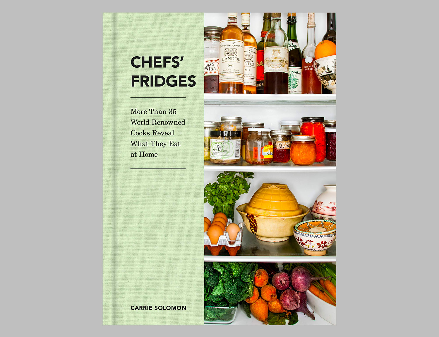 Chefs' Fridges: More Than 35 World-Renowned Cooks Reveal What They Eat at Home at werd.com