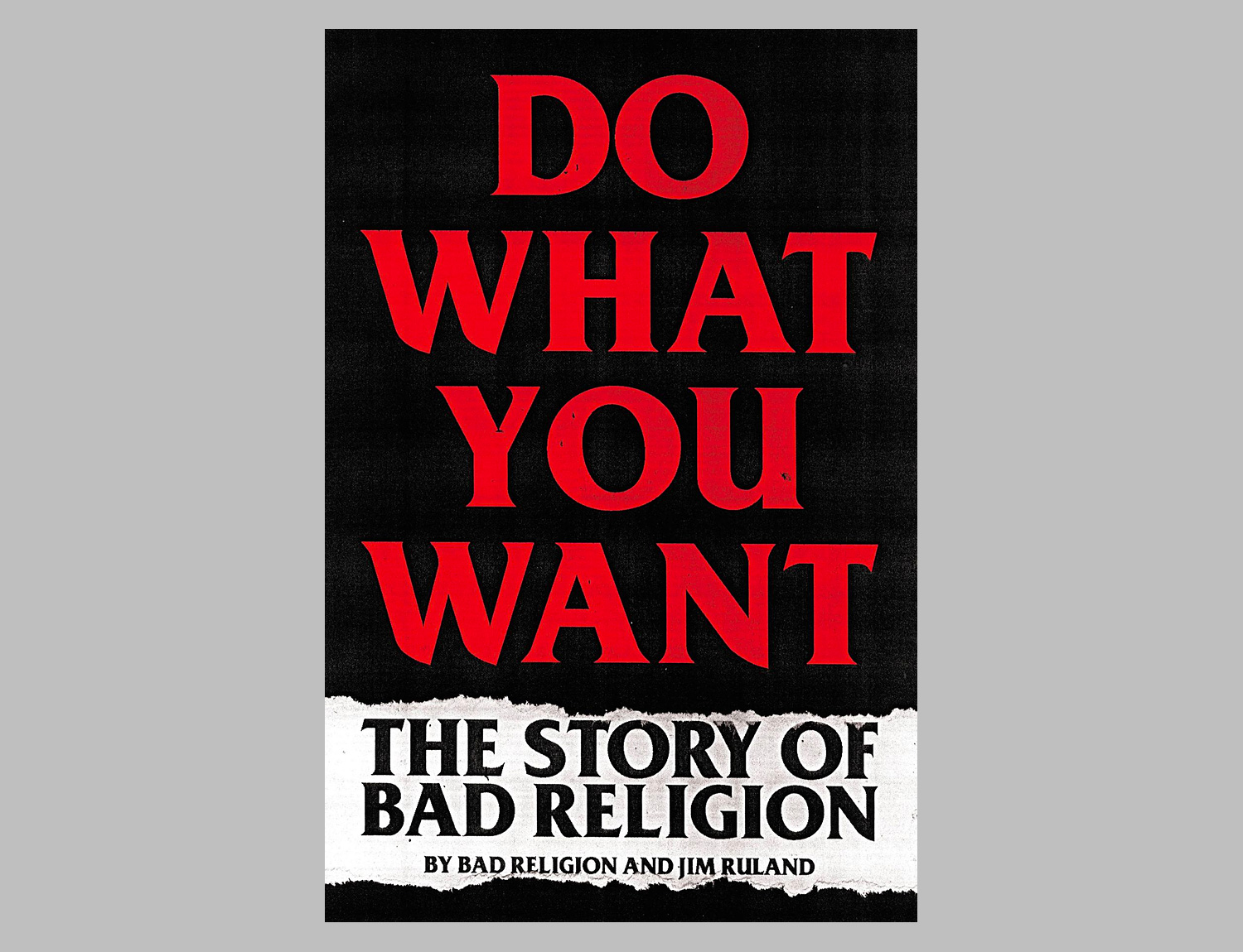 Do What You Want: The Story of Bad Religion at werd.com