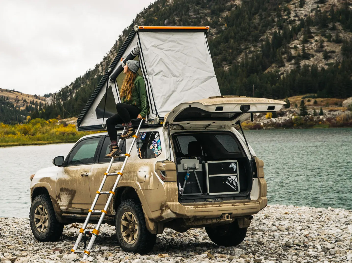 GFC's Platform Roof Top Tent Rides Lower Than the Rest at werd.com