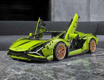 LEGO & Lamborghini Team-Up On Technic Sian Set