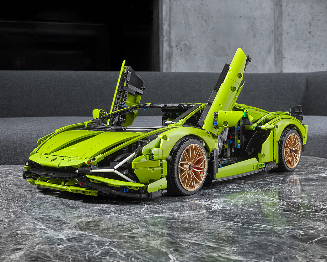 LEGO & Lamborghini Team-Up On Technic Sian Set at werd.com
