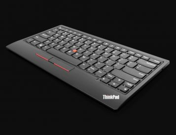 Lenovo's Wireless TrackPoint II Keyboard Delivers Mouse-Free Navigation