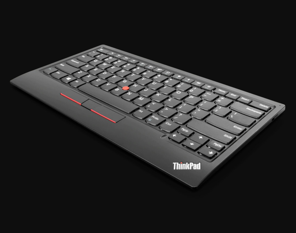 Lenovo's Wireless TrackPoint II Keyboard Delivers Mouse-Free Navigation at werd.com