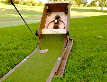 BYO Mini-Golf with the Portable Puttskee
