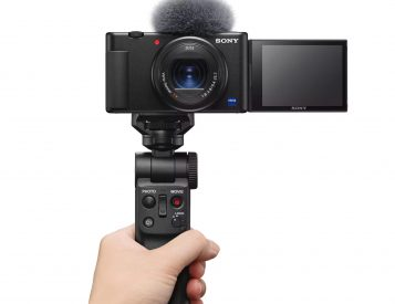 Sony's 4K ZV-1 Camera is Built To Vlog