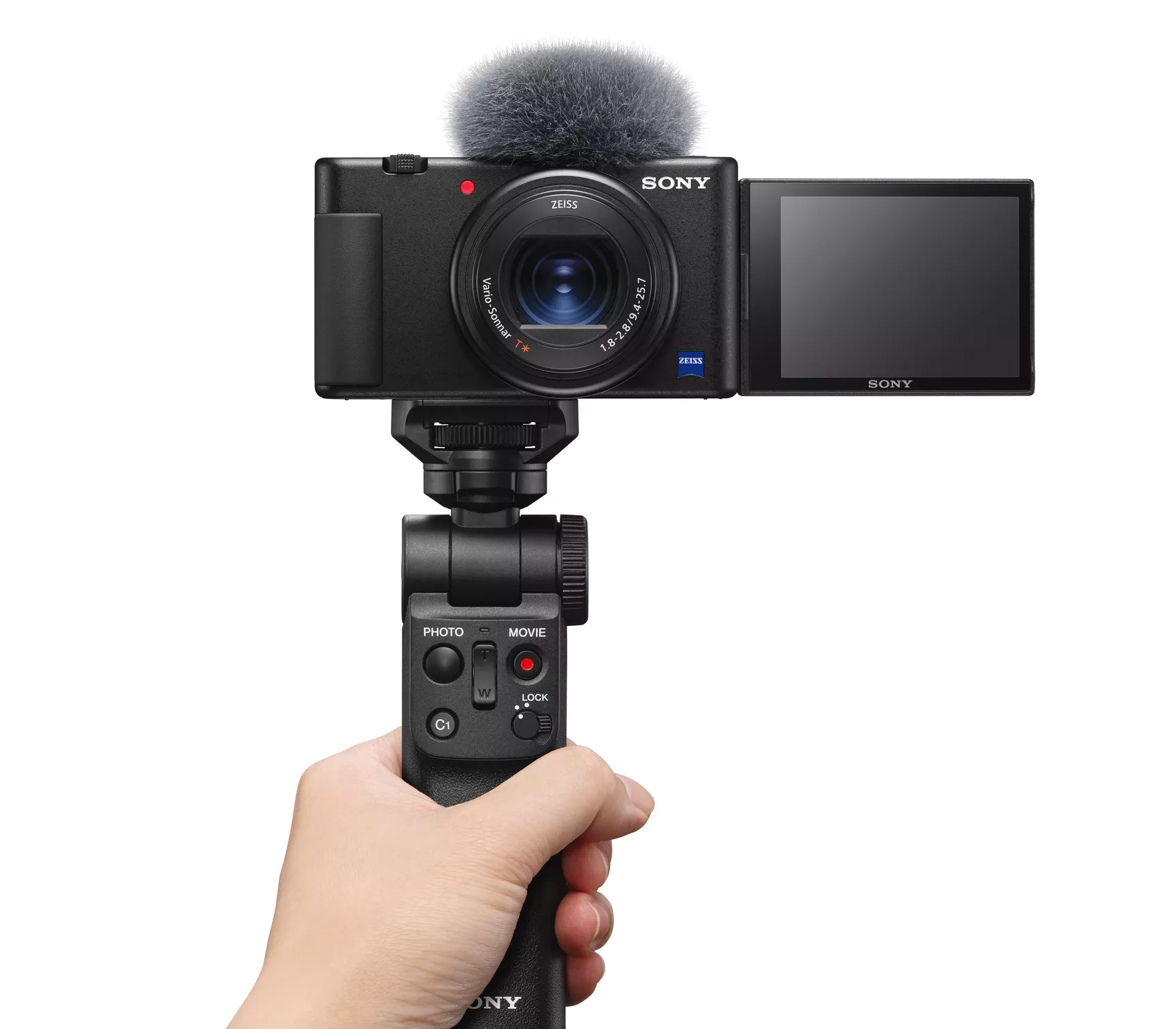 Sony's 4K ZV-1 Camera is Built To Vlog at werd.com