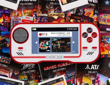 Evercade Handheld Console Revives the Game Cartridge