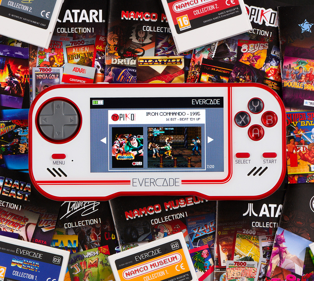 Evercade Handheld Console Revives the Game Cartridge at werd.com