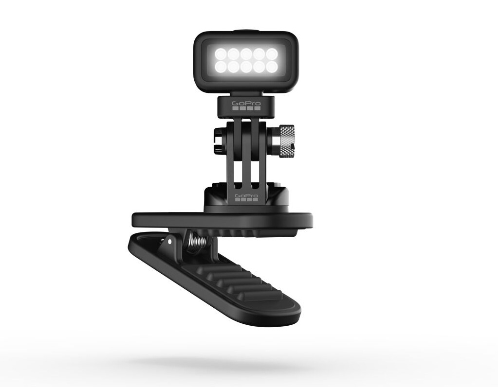 GoPro Lights Up the Shoot with Zeus Mini Clip Light at werd.com