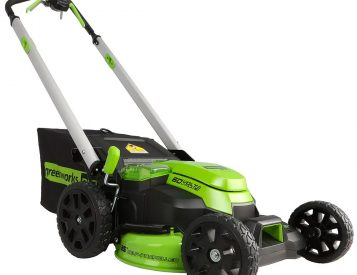 Greenworks' E-Mower Cuts Grass Better Than Gas