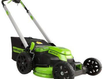 Greenworks' E-Mower Cuts Grass Better Than Gas