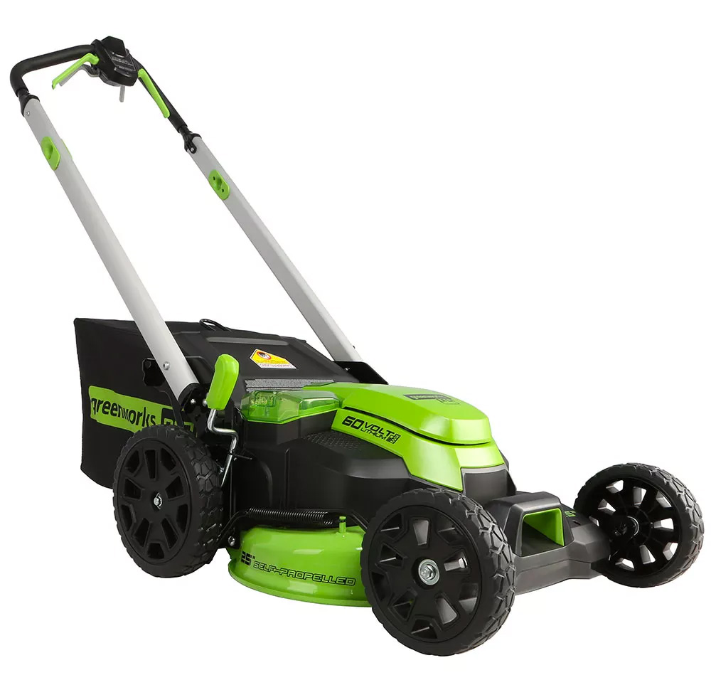 Greenworks' E-Mower Cuts Grass Better Than Gas at werd.com