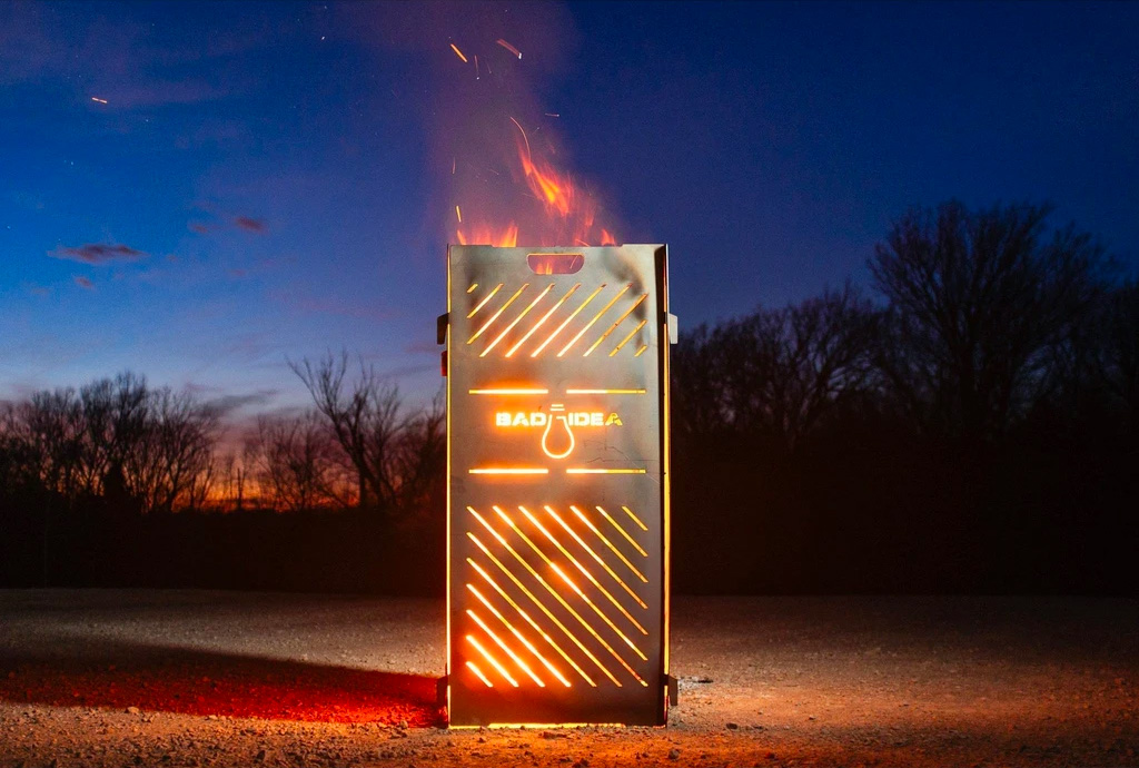 Burn One Anywhere with a Portable Pyro Cage at werd.com