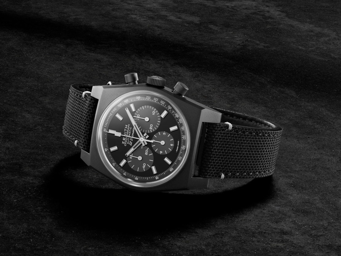 "Zenith's Revival ""Shadow"" Merges Classic Style & Modern Stealth at werd.com"