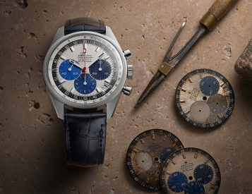 Zenith Goes Back In Time with Chronomaster Revival Manufacture Edition