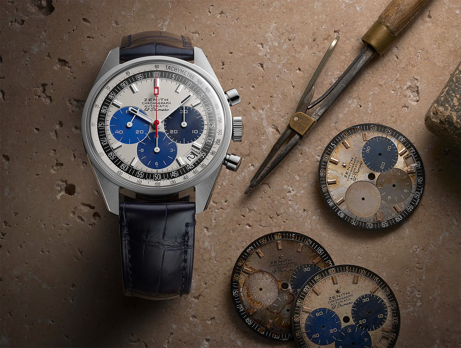 Zenith Goes Back In Time with Chronomaster Revival Manufacture Edition at werd.com