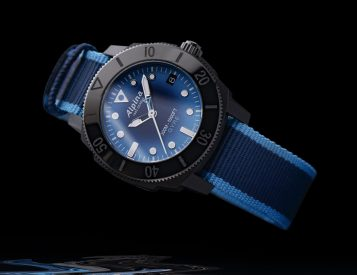 Alpina Creates Seastrong Gyre Diver from Recycled Ocean Plastics