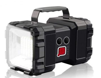 Light Up the Night with This Rechargeable Super Spotlight
