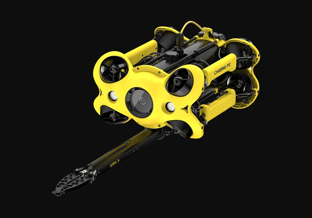 The Chasing M2 Drone Dives Deep at werd.com