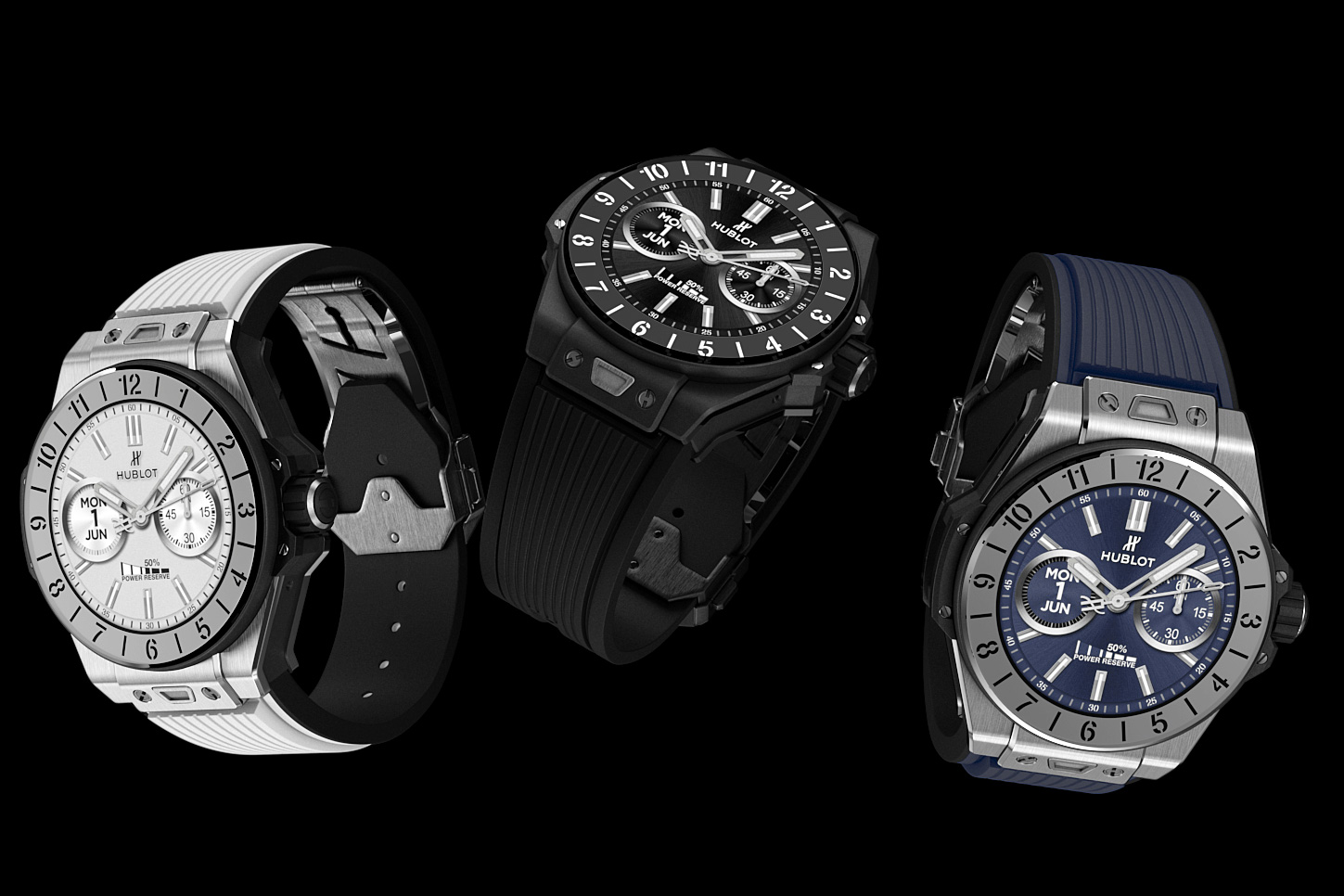 Hublot's Big Bang e Looks Rather Smart at werd.com