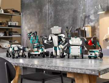 Lego Makes It Easier To Build Your Own 'Bot