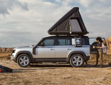 Land Rover x Autohome Offer Sleek Rooftop Tent for 2020 Defender 110