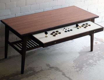This Coffee Table Doubles as a Game Console