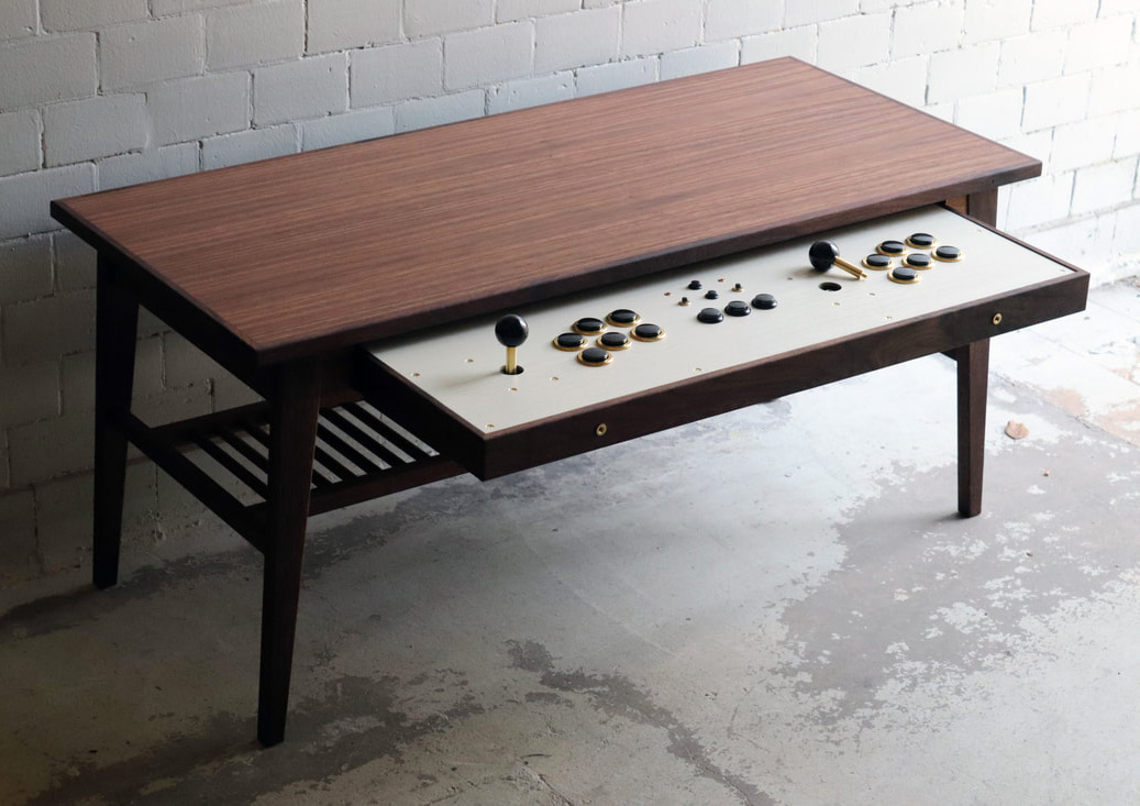 This Coffee Table Doubles as a Game Console at werd.com