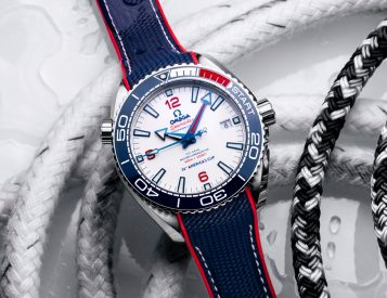 Omega Celebrates America's Cup Partnership with Limited Seamaster