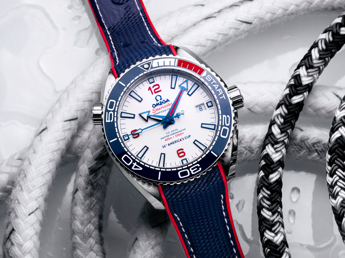 Omega Celebrates America's Cup Partnership with Limited Seamaster at werd.com
