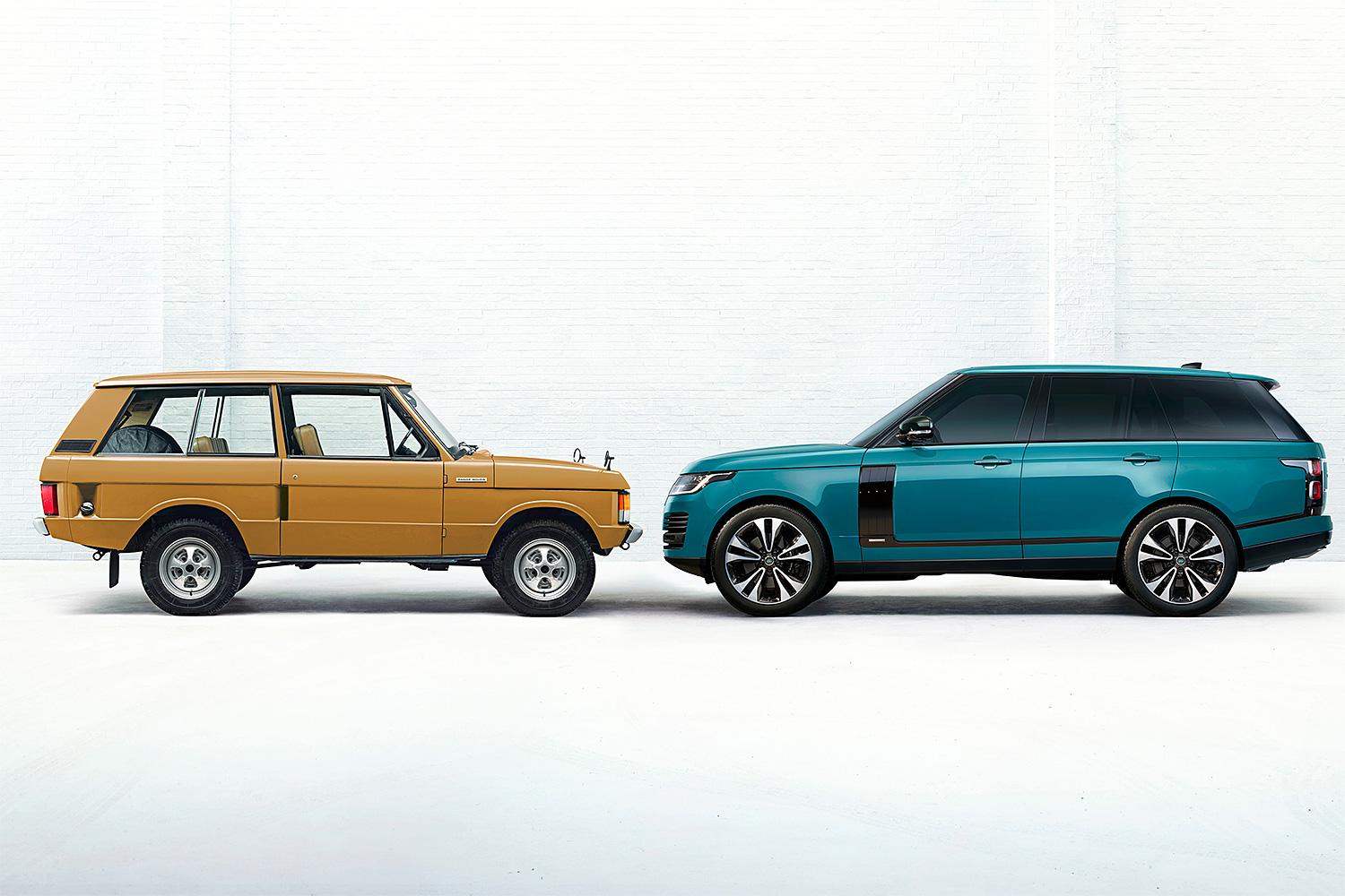 The Iconic Range Rover Looks Amazing At Fifty at werd.com
